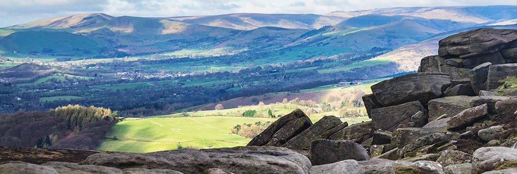 Stanage Edge Walk