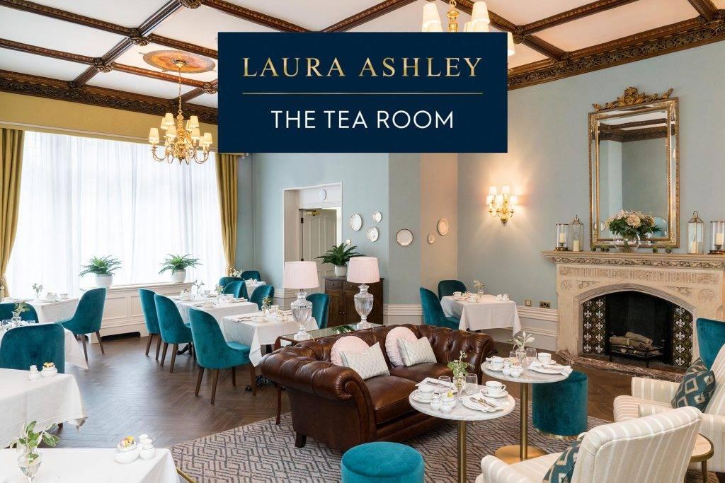 Laura Ashley Tea Room at Kenwood Hall Hotel