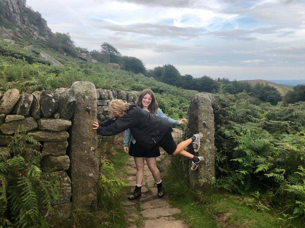 Kids Walk: Stanage Edge